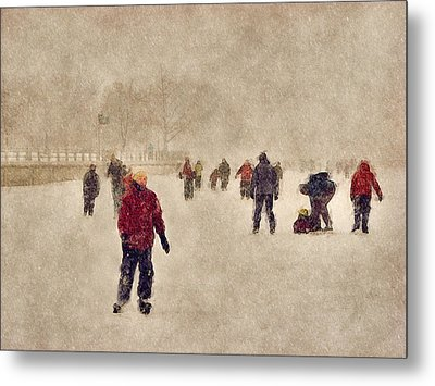 Joy Of Winter Metal Print by Celso Bressan