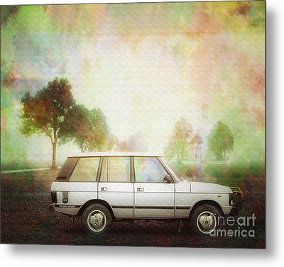 Joys Of Refined Motoring  Metal Print by Edmund Nagele