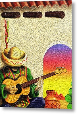 Juan's Song Metal Print by Tyler Robbins