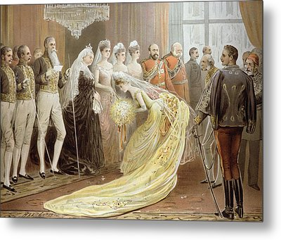 Jubilee Drawing Room, From The Illustrated London News, 21st May 1887 Litho Metal Print
