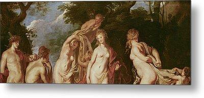 Judgement Of Paris Metal Print by Peter Paul Rubens