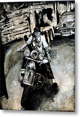 Judy Ann Metal Print by Alys Caviness-Gober