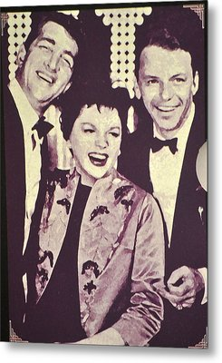 Judy Garland And Friends Metal Print by Jay Milo