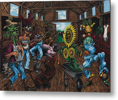 Jug Band  Metal Print