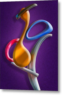 Juggling Act Metal Print