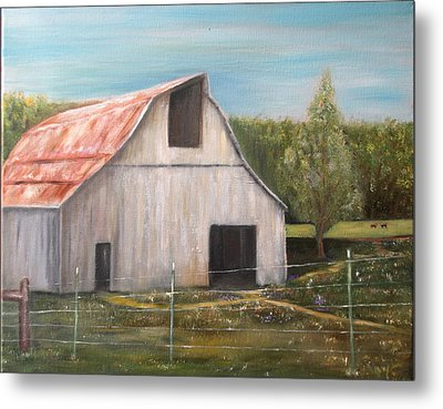 Julian Homestead Barn Metal Print