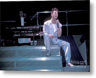 Julian Lennon Metal Print by Concert Photos