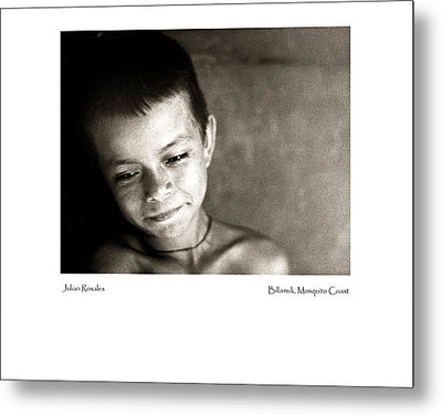 Metal Print featuring the photograph Julian Rosales by Tina Manley