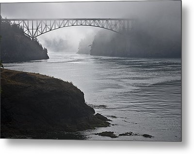 July's Passage Metal Print by Tom Trimbath
