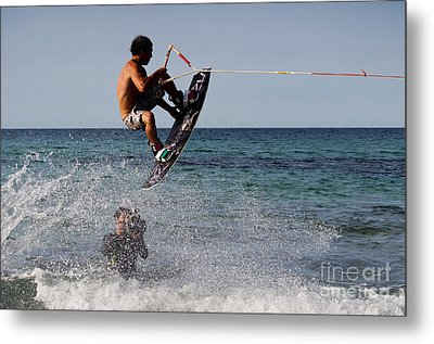 Jump Metal Print by Francesco Zappala
