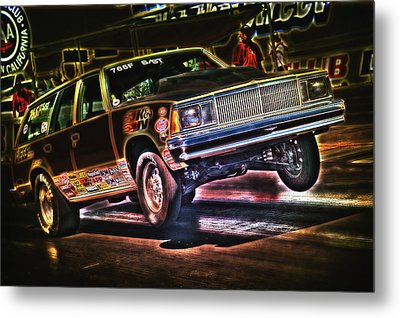 Jumping Chevelle Metal Print