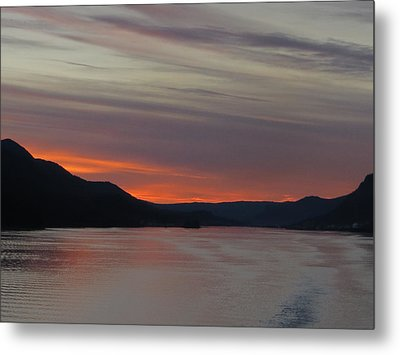 Juneau Alaska Metal Print by Jennifer Wheatley Wolf