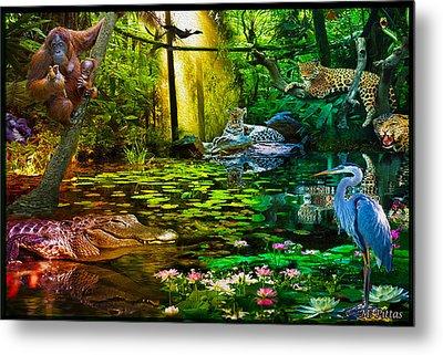 Jungle Dream 2 Metal Print