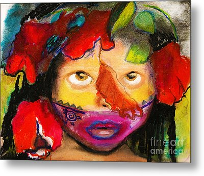 Jungle Girl Metal Print