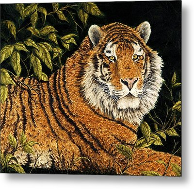 Jungle Monarch Metal Print by Rick Bainbridge