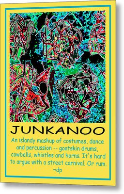 Junkanoo Poster Metal Print
