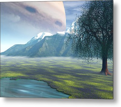 Jupiter Rising Metal Print