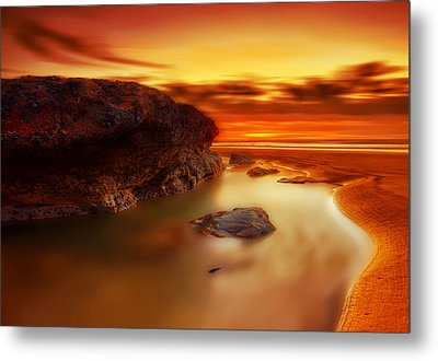 Jupiter Sunrise Metal Print by Mark Leader