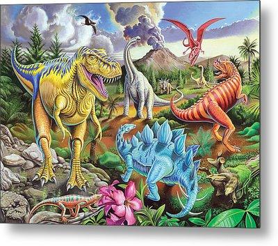 Jurassic Jubilee Metal Print by Mark Gregory