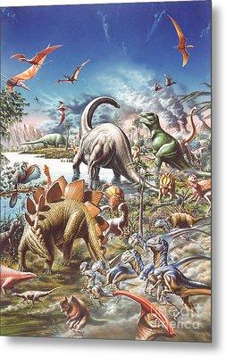 Jurassic Kingdom Metal Print