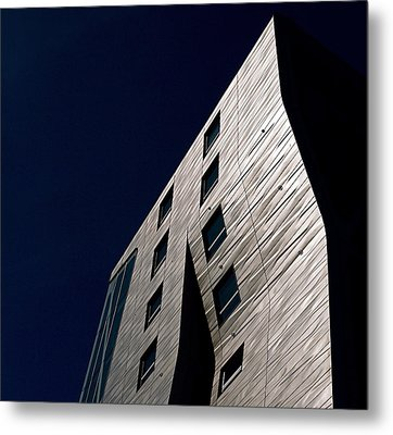 Just A Facade Metal Print by Rona Black