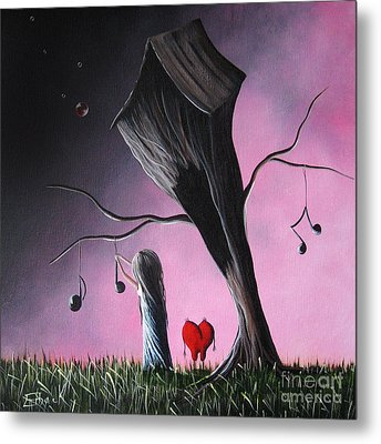 Just A Little Love Song By Shawna Erback Metal Print by Shawna Erback