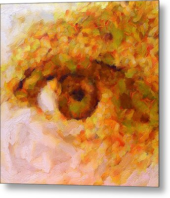 Just A Look Metal Print by RochVanh
