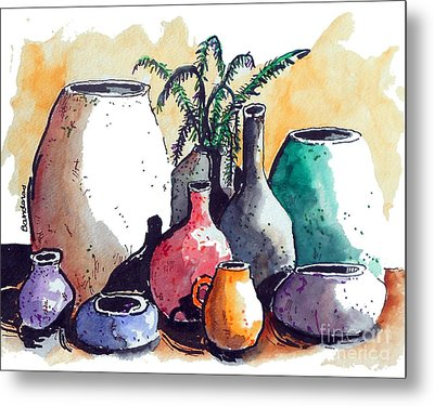 Just A Simple Still Life Metal Print