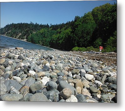 Just Beachy Metal Print by Lori Thompson