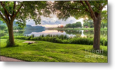 Metal Print featuring the photograph Just Before Sunset by Kari Yearous