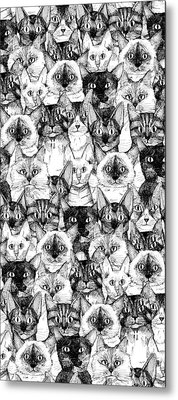 Just Cats Metal Print by Sharon Turner