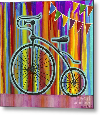 Just Keep Going Metal Print by Carla Bank