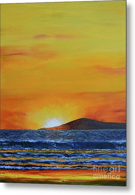 Just Left Maui Metal Print
