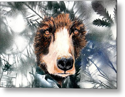 Just Lookin Metal Print by Holly Smith