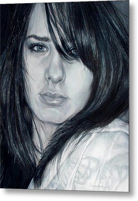 Just Me Metal Print by Shana Rowe Jackson