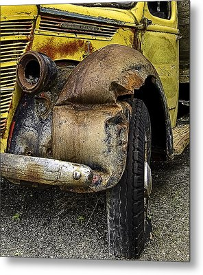Just One Accident Metal Print