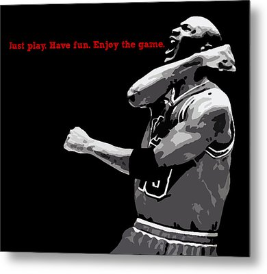 Just Play Metal Print