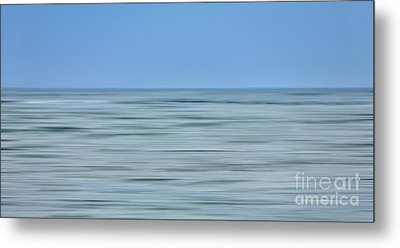 Just Sky Just Water - A Tranquil Moments Landscape Metal Print by Dan Carmichael