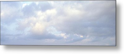 Metal Print featuring the photograph Just Sky by Nina Mitkova