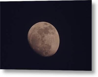 Just The Moon Metal Print by Jeff Swan