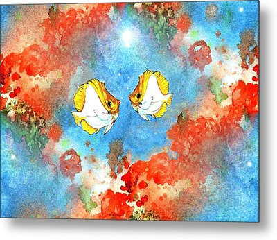 Just You And Me Babe Metal Print