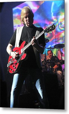 Justin Hayward Of The Moody Blues Metal Print