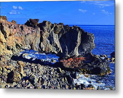 Metal Print featuring the photograph Kaena Point Rock Arch by Aloha Art