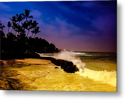 Metal Print featuring the photograph Kailua Bay by Randy Sylvia