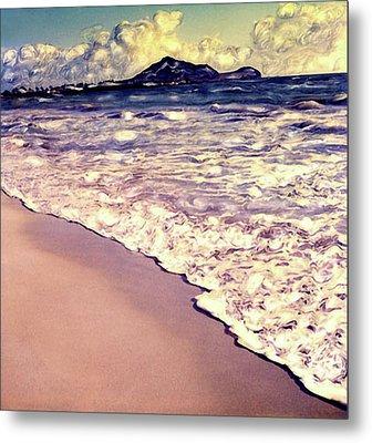 Kailua Beach 2 Metal Print by Paul Cutright