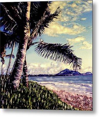 Kailua Beach 3 Metal Print by Paul Cutright