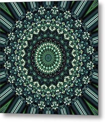 Kaleidoscope 10 Metal Print by Tom Druin