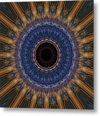Kaleidoscope 11 Metal Print by Tom Druin