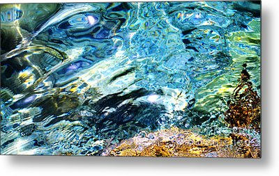 Kanaloa Abstract Metal Print