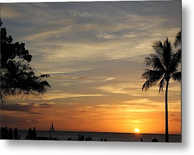 Kanapali Sunset Metal Print